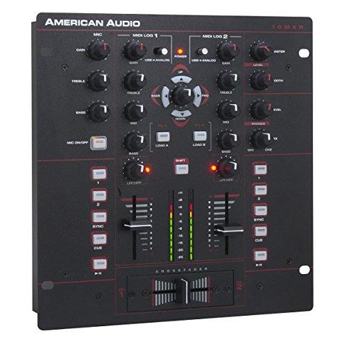 American Audio 10 MXR | 10in 2 Channel MIDILOG Mixer MIDI Interface Control MXR926