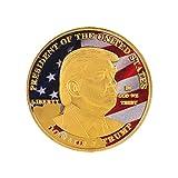 Donald Trump Commemorative Coin - MAKE AMERICA GREAT AGAIN Gold Silver Plated Coin