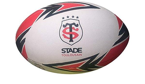 Stade Toulousain – Balón de Rugby Oficial – Gilbert – Talla 5 ...