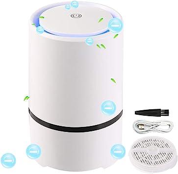 Purificador de aire silencioso para casa, 30 dB, LED, aire ...