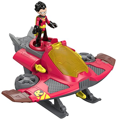 Fisher-Price Imaginext Teen Titans Go! Robin and Jet -