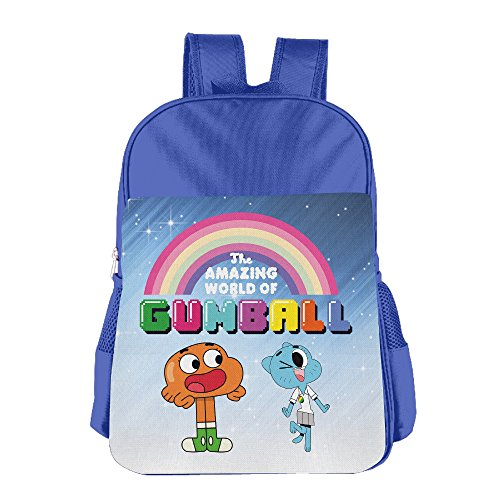 FUOALF The Amazing World Of Gumball Rainbow Kids Children Boys Girls Shoulder Bag School Backpack - York Usa New Destiny