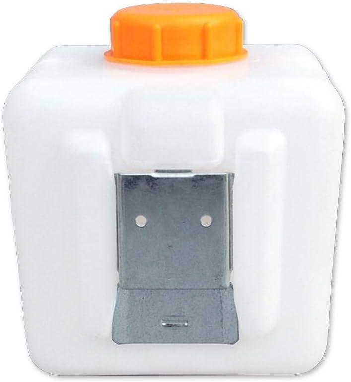 Calentador de estacionamiento Tanque de combustible Tanque de plástico de 2.5L con adaptador de boquilla de aceite+Panel de metal+Juego de tornillos para calentadores de automóviles Webasto Ebersp
