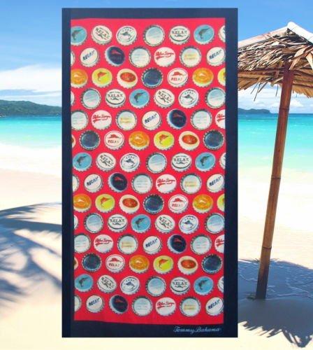 Tommy Bahama RELAX CAPS Beach Towel 35