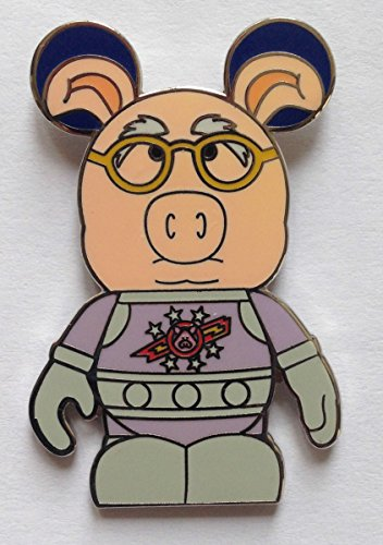 - Disney Pin 89574 Vinylmation(TM) Collectors Set - Muppets #2 - Pigs in Space Dr. Strangepork Chaser Only Pin