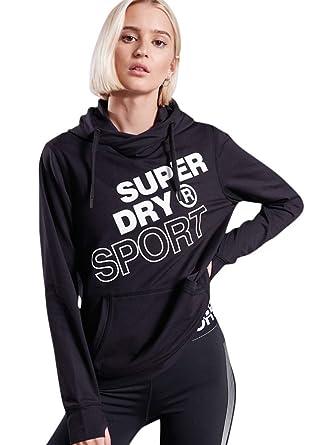 3e5954bffcb Amazon.com: Superdry Women's Core Graphic Hoodie Sweatshirt: Clothing