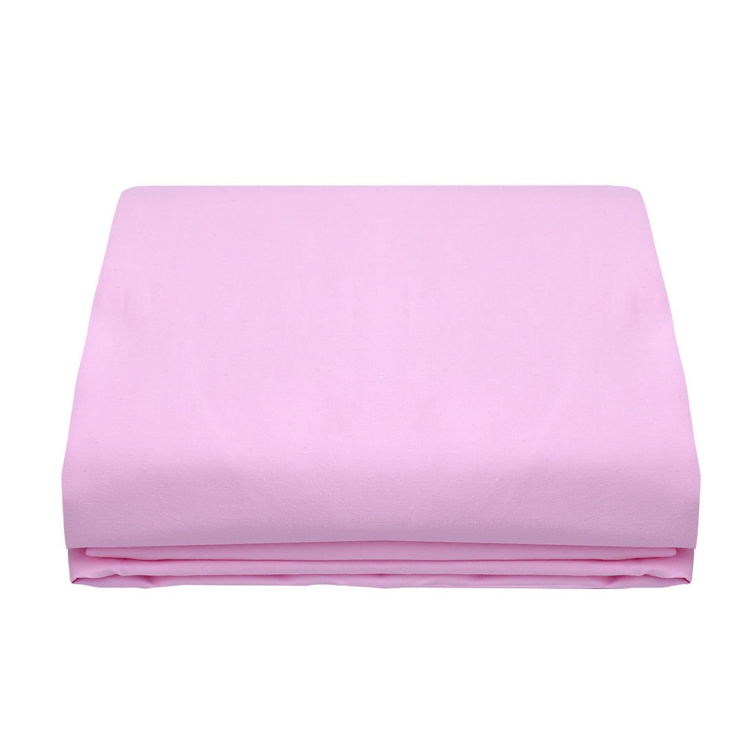 uxcell Queen Size Flat Top Bed Sheet Only - 300 Thread Count Egyptian Cotton - Fitted Sheet Sold Separately for Set - Cool Feeling-100% Satisfaction Guarantee (1-Piece, Queen, Pink)(102 x 90Inch)