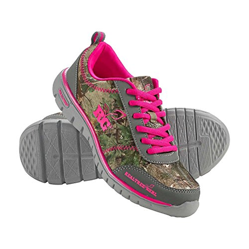 Legendary Whitetails Ladies Kendra Realtree Athletic Shoes Hot Pink 6.5