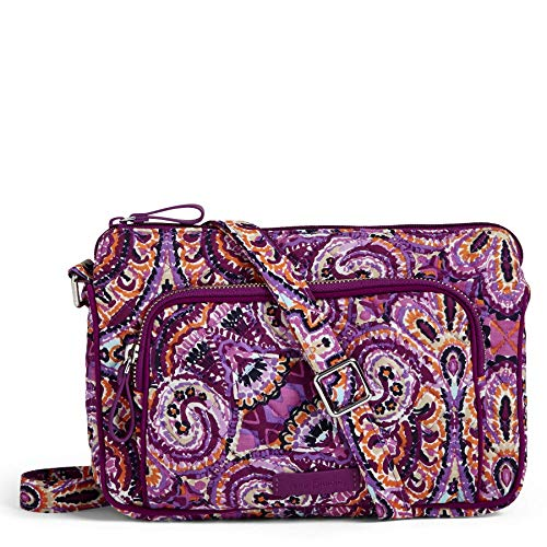 Vera Bradley Iconic RFID Little Hipster, Signature Cotton, Dream Tapestry ()