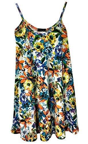 Papaval - Camiseta sin mangas - para mujer Floral 1