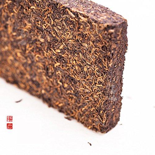 Aseus 05 years of fine palace Pu'er tea Kunming tea gift bags post old dry warehouse