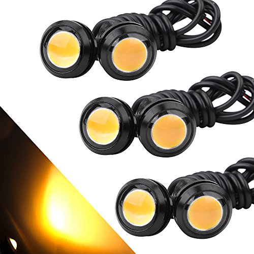 OSC 6Pcs High Power 23mm Eagle Eye LED 9W DRL Fog Light, used for sale  Delivered anywhere in USA