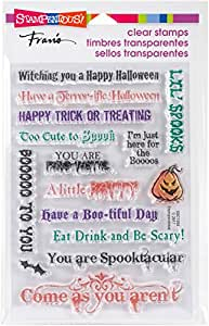 Stampendous Spooky Wishes Clear Stamp Set