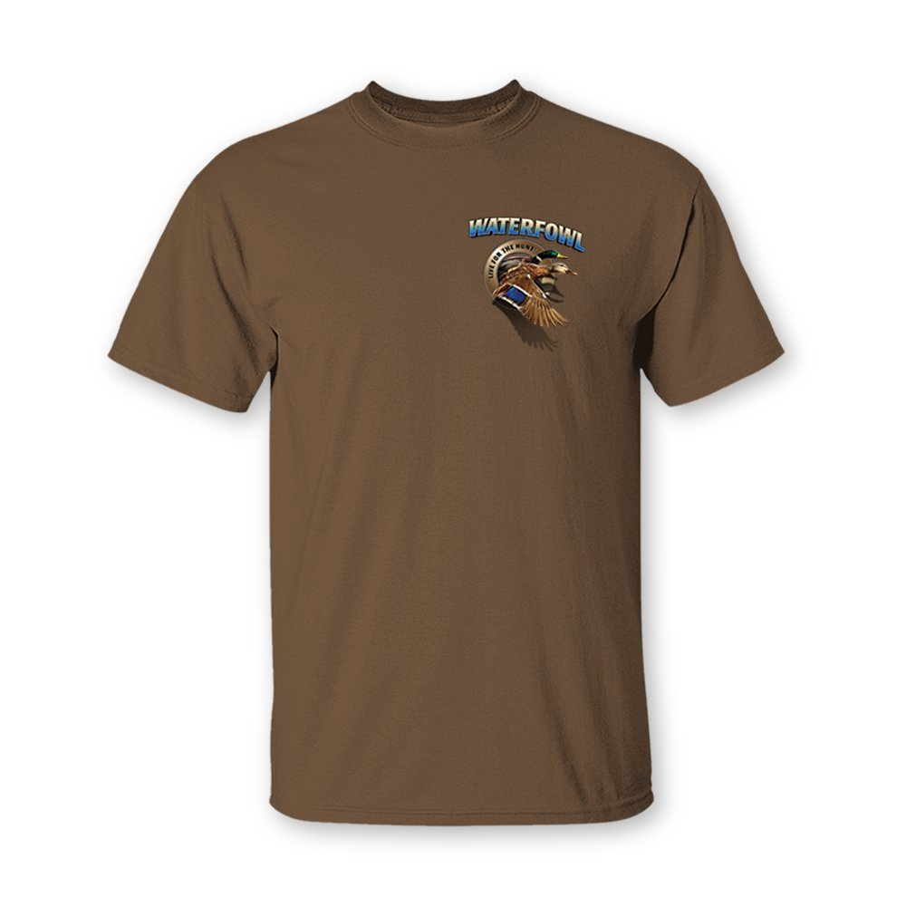 b6c92ebb1e Follow the Action Waterfowl (Duck) Two-Sided Short Sleeve Hunting T-Shirt |  Amazon.com