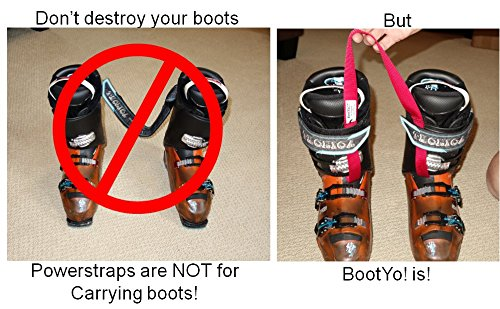 Bootyo By Mt Sun Gear Ski Boot Carrier Straps Also Great For Ice