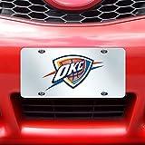 Fanmats NBA Oklahoma City Thunder License Plate-Inlaid 6x12