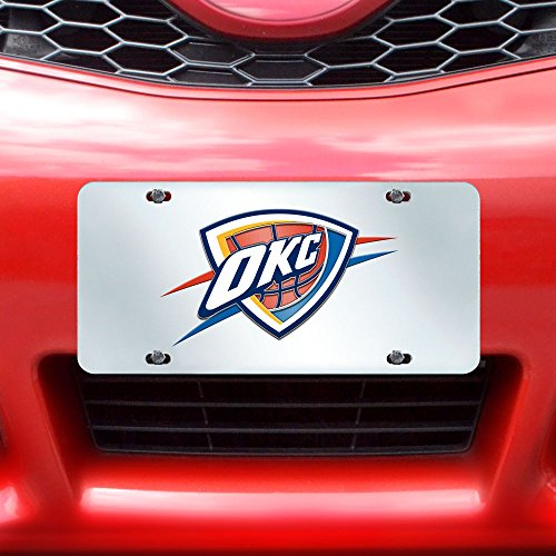 Fanmats NBA Oklahoma City Thunder License Plate-Inlaid 6x12 by Fanmats