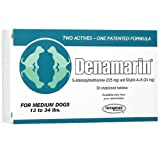 Nutramax Denamarin Tabs For Medium Dogs 13-34 Lbs. – 30 Tablets, My Pet Supplies