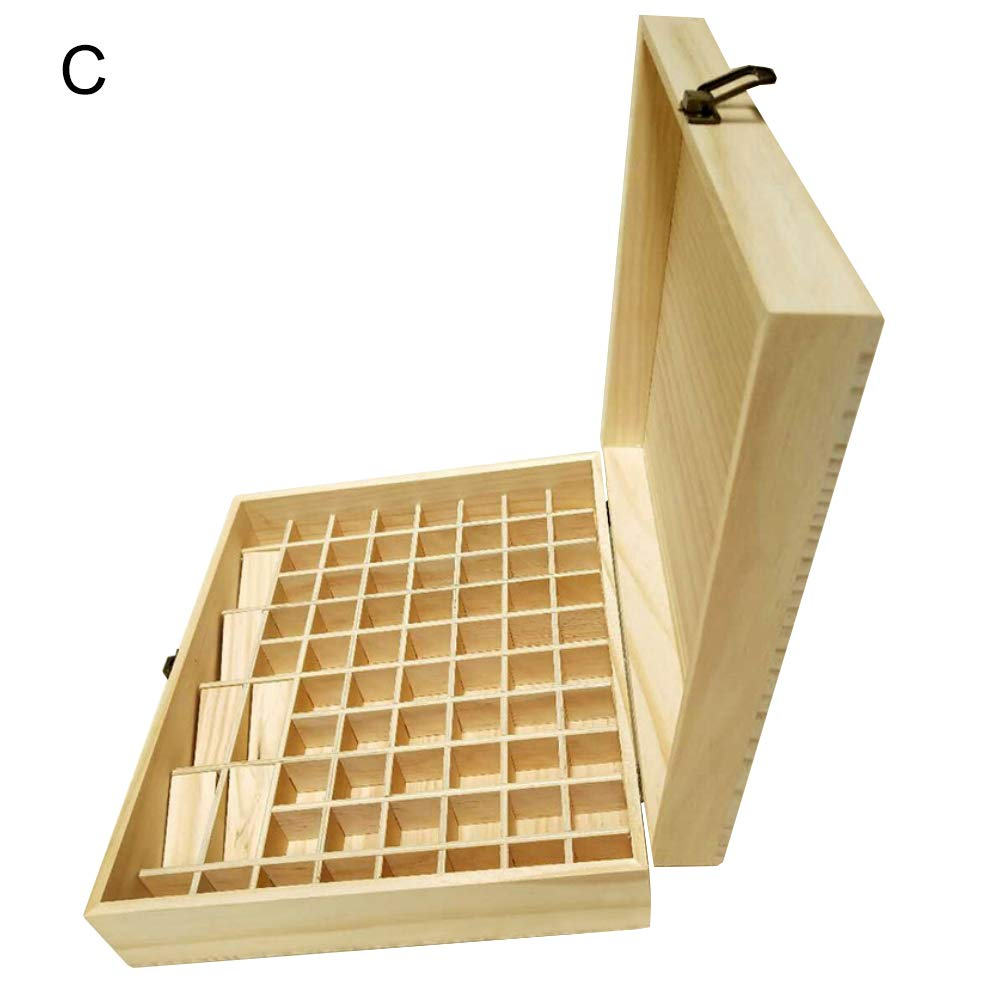 Amazoncom Kekailu Wooden Essential Oil Box Container Organizer