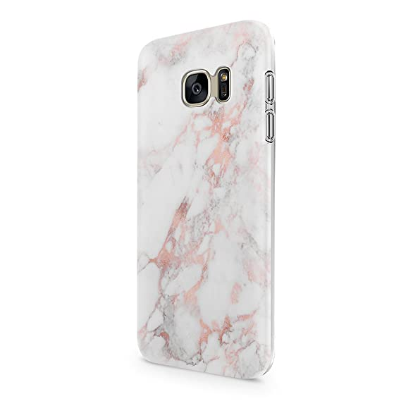 low priced b774e bd18c Galaxy S7 Case uCOLOR Rose Pink Marble Dual-Layer Soft Flexible TPU  Protective Cover for Samsung Galaxy S7