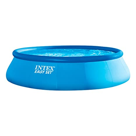 Intex 26166NP - Piscina hinchable Easy Set 457 x 107 cm, 12.430 litros