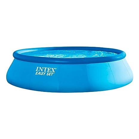 Intex 26166NP - Piscina hinchable Easy Set 457 x 107 cm, 12.430 litros