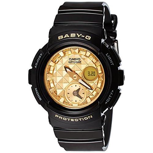 Casio Women's Baby G BGA195M-1A Black Rubber Quartz Sport Watch