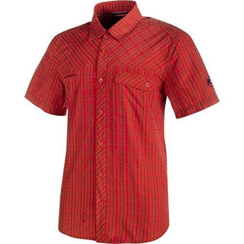 偽装する膨らませるすずめMammut Asko Shirt lava/dark lava S
