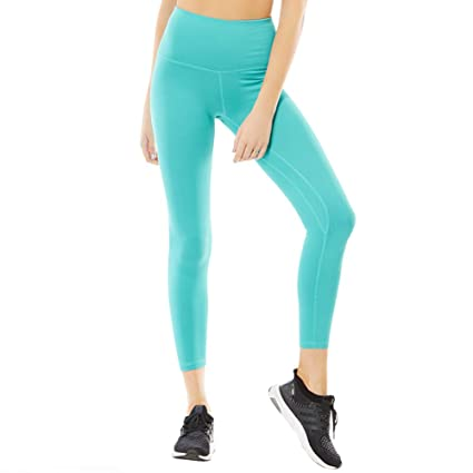Sokaly Mujer Leggings Mallas Pantalones Deportivos Suaves de Alta Elasticidad para Yoga Fitness Pilates Correr Tenis Deportes O Casual
