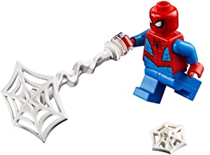 LEGO Marvel Super Heroes LOOSE Minifigure Spider-Man with Webs