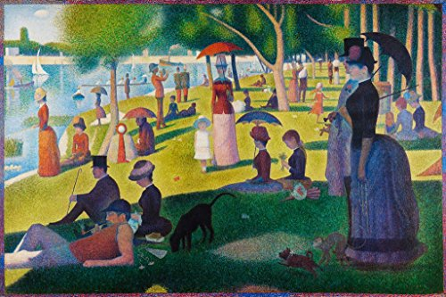 ArtParisienne A Sunday on La Grande Jatte by Georges Seurat Wall Decal, 36