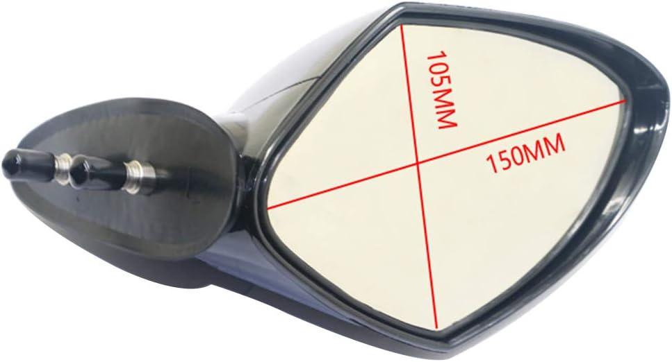 GOOFIT Right Side Motorboat Rearview Mirror Replacement for Yamaha WaveRunner VX110 VX110 VXR VXS V1 FX Sport Deluxe Cruiser EX Series 2005-2009