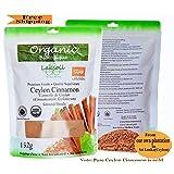Certified Organic 152g/5.42oz Pure Ceylon/True Cinnamon Powder