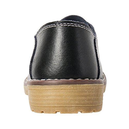 Aleader mujer para Bailarinas Loafers negro 1wfvBgq