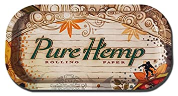 Pure Hemp Cigarette Roll-Your-Own Rolling Paper Tray (X-Small (4