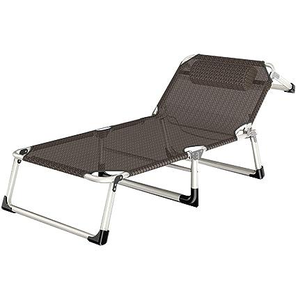 Super Amazon Com Patio Lounge Chair Chaise Bed Adjustable Evergreenethics Interior Chair Design Evergreenethicsorg
