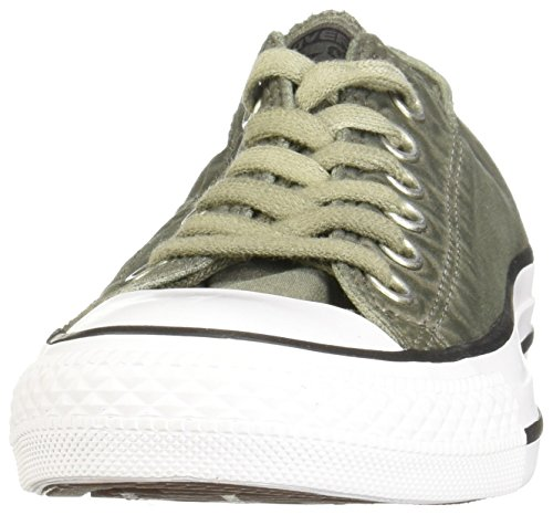 Converseer All Star Ox Mens Sneakers Groene Olijf Onderzeeër / Zwart / Wit