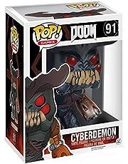 """Funko POP Games: Doom - Cyberdemon Action Figure, 6"""""""