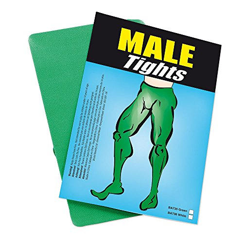 Bristol Novelty BA735 Male Tights Green, One -