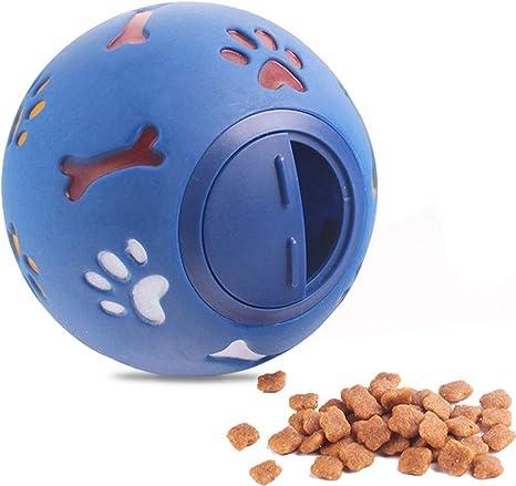 HanryDong Pelota dispensadora interactiva para Perro, Juguete de ...