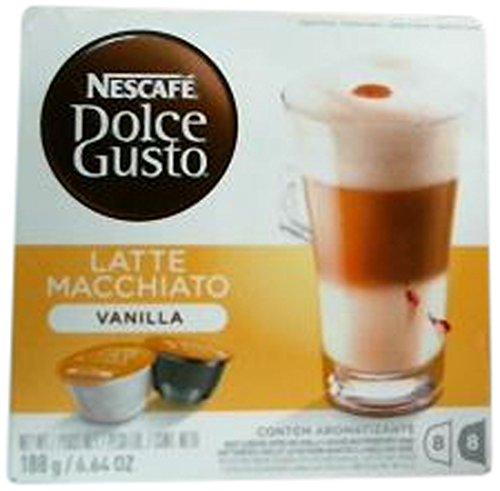 Nescafe Dolce Gusto Vanilla Latte Macchiato 8 capsules 3-Pack 12125502