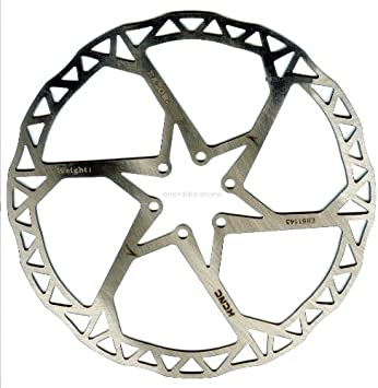 KCNC Ultralight Titanium Ti Disco de freno rotor 160 mm bicicleta ...