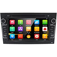 7 inch HD Touchscreen Auto Car in Dash DVD Player GPS Navigator for Opel VAUXHALL Astra Vectra Corsa Antara Vivaro Zafira Meriva with CanBus Bluetooth TF Card RDS Radio USB Port SD Slot