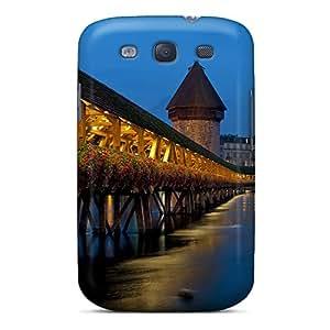 New ACOHotC4354MvXbd Bridge In Switzerl Skin Case Cover Shatterproof Case For Galaxy S3