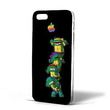 funny Teenage Mutant Ninja Turtles and logo aple Iphone Case ...
