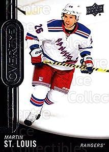 (CI) Martin St. Louis Hockey Card 2014-15 Upper Deck Overtime 30 Martin St. Louis