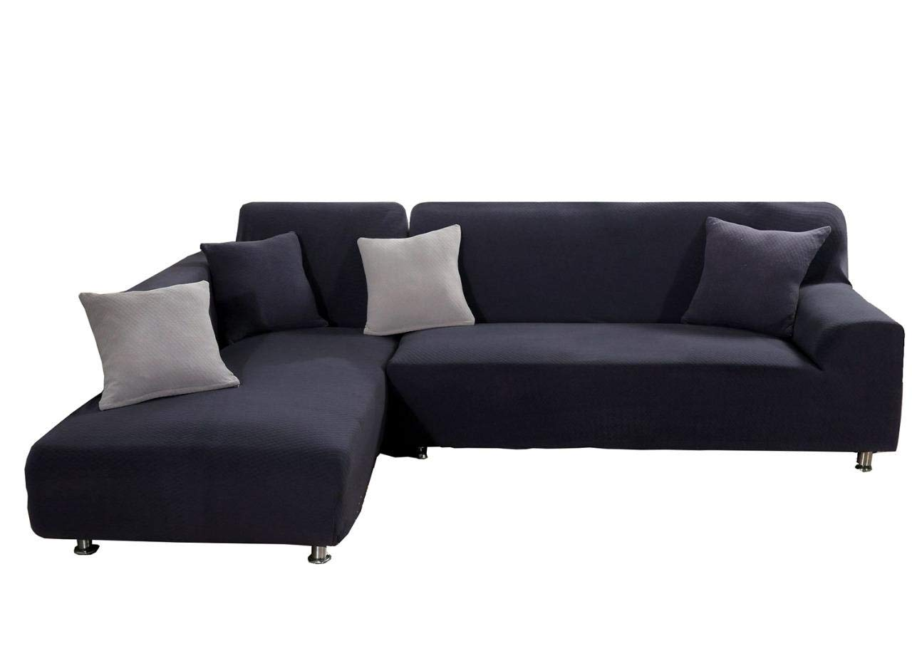 Amazoncom Womaco L Shape Sofa Covers Knit Sectional Sofa Cover 2