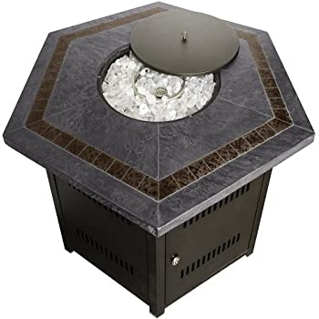 Amazon Com Strathwood St Thomas Cast Aluminum Fire Pit