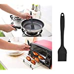 HY Silicone Spatula Set 5-piece - 600ºF Heat-Resistant Baking Spoon Spatula - Seamless One-Piece Design Easy to Clean - Non-Stick Silicone Rubber with Stainless Steel Core for Cooking and Baking 14 HIGH HEAT 600ºF PRO-GRADE SILICONE - Our BPA Free and FDA Approved Silicone is Safe for high-heat cooking, We use these spatulas ourselves and want the best for our family and yours HYGIENIC - One-piece Spatulas, no place for bacteria to gather or hide, no crevices for food to linger NON-STICK - The spatulas are made of smooth, non-stick silicone, and they are safe to use with all types of non-stick cookware cast iron,and will not scratch your coated pots and pans