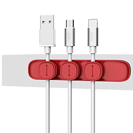 PRNMRT Protector magnético Cable Clip Desktop Tidy ...